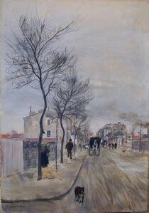 Une Rue en Hiver, Pres de Paris