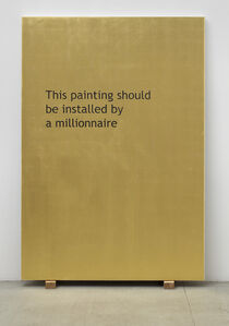 This Painting Should Be Installed by a Millionaire