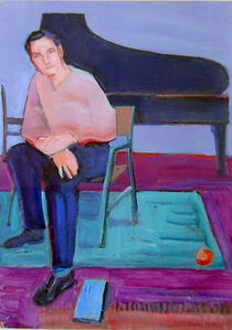 Untitled (Man with Piano)