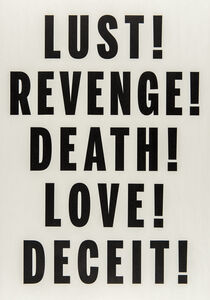Love, Lust, Deceit, Revenge, Death
