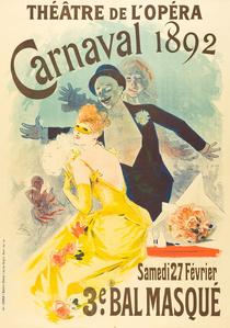 THÉÂTRE DE L'OPÉRA – CARNAVAL 1892