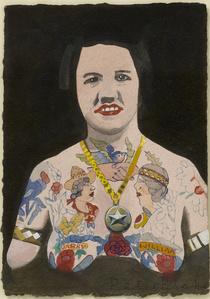 Tattooed Woman 4