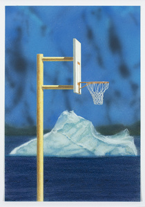 Hoop with Iceberg