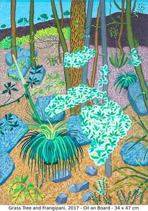 Grass Tree and Frangipani