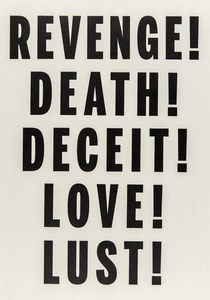 Love, Lust, Deceit, Revenge, Death