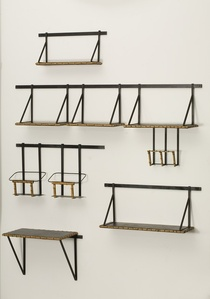 Set of Wall Mounted Shelves