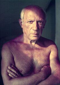 Portrait of artist Pablo Picasso