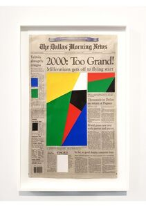Art For Modern Architecture - Dallas Morning News - The Millenium - January 1st, 2000