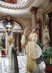 The Costume of painter- C.Lacroix 030111 & L.Leighton 090808