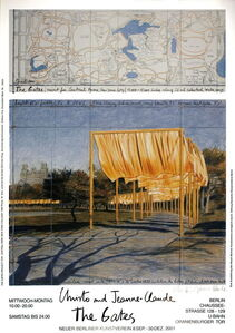 The Gates Project for Central Park New York (signed)