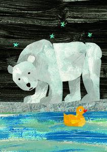 """Illustration from """"10 Little Rubber Ducks"""""""