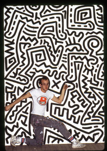 Keith Haring, Brooklyn Academy of Music, New York