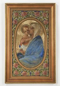 Art Deco Madonna and Child