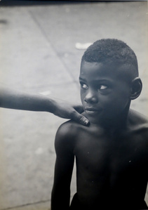 'Kids God Bless,' From Belafonte, New York 19 (Boy With Woman's Hand on Shoulder)