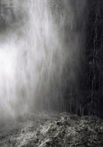 Ohne Titel (Wasserfall I)