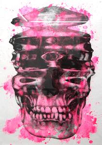 Cráneo distorsionado #9