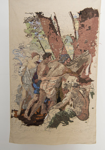 "Banner 3, from ""Les Bergers d'Arcadie"", Nicolas Poussin"