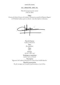 Contrats de cession La Signature