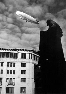Dirigible Over Moscow