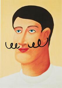 Portrait with a Mustache