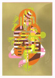 Mother & Child (Monoprint #1)
