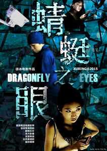 Dragonfly Eyes Poster