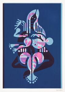 Mother & Child (Monoprint #35)