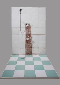 Winter Bathroom Wall