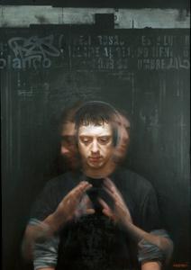Self Portrait in Motion