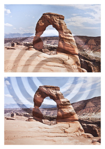 Mountains + Valleys: Arches, Diptych