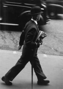 Man Walking, London