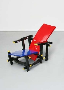 Left handed Rietveld chair