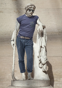 Hipster in Stone I - Aristaeus