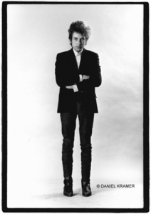 Bob Dylan, Standing in Studio, New York