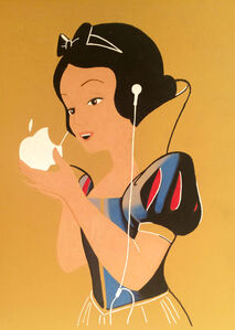 Snow White and Her Apple