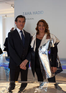 Zaha Hadid 'Liquid Glacial'