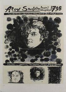 Portrait Of Aloys Senefelder