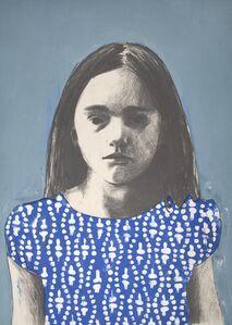 Girl 7, blue