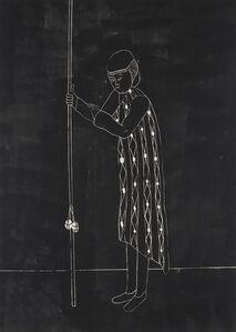 """Self-Portrait in Response to Lack of Adequate Equipment (night version)"""