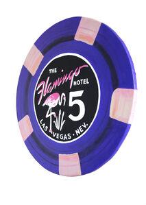 Flamingo- Giant Casino Chip