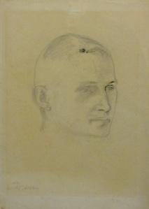Portrait of Georg Muche