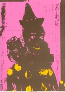 Neon Clown (Pink with Orange)