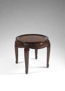 """""""Pinet"""" a small Makassar ebony veneer table"""