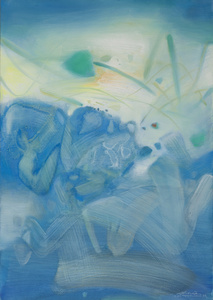 Atmosphère bleue III