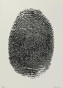 Not Manzoni (Impronte pollice destro, 1960)