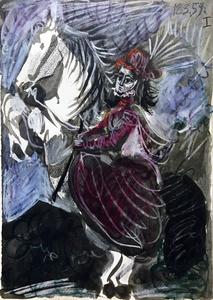 Jacqueline et Un Caballo 1