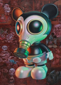 Mousemask Murphy with Skeleton