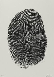 Not Manzoni (Impronte pollice sinistro, 1960)