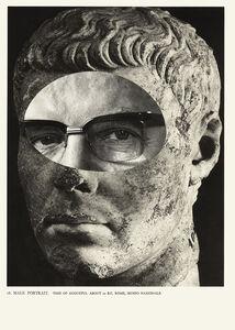 Male Portrait 18 - da série Cavo um fóssil repleto de anzóis