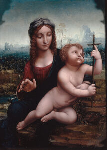 Madonna of the Spindle (or Madonna of the Reel)